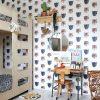 Studio Ditte Panthera behang wit2