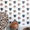 Studio Ditte Panthera behang wit4