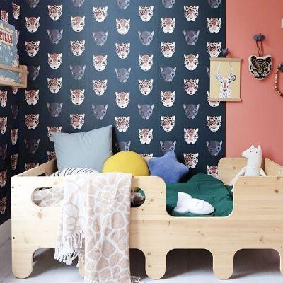 Studio Ditte behang panthera donker
