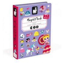 Janod magneetboek prinsessen