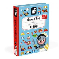 Janod magneetboek verkleedfeest jongens