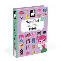 Janod magneetboek verkleedfeest meisjes