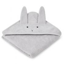 Liewood Albert badcape rabbit dumbo grey