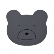 Liewood Aura placemat mr bear stone grey