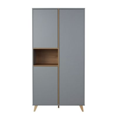 Quax kledingkast 2 deuren Loft grey