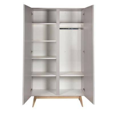 Quax kledingkast 2 deuren Trendy griffin grey