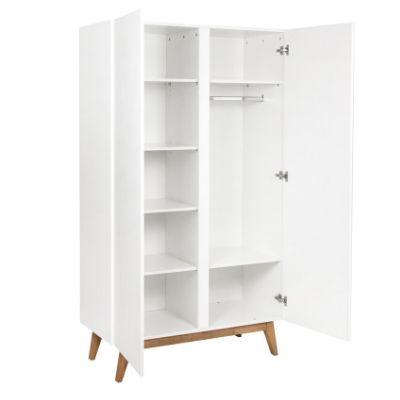 Quax kledingkast 2 deuren Trendy white