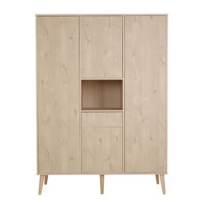 Quax kledingkast 3 deuren Cocoon oak natural