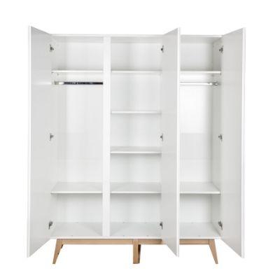Quax kledingkast 3 deuren Trendy white