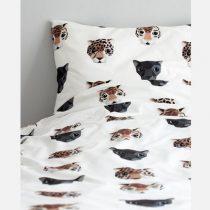 Studio Ditte dekbedovertrek panthera wit eenpersoonsbed