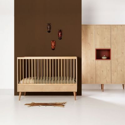 Quax ledikant Cocoon oak natural