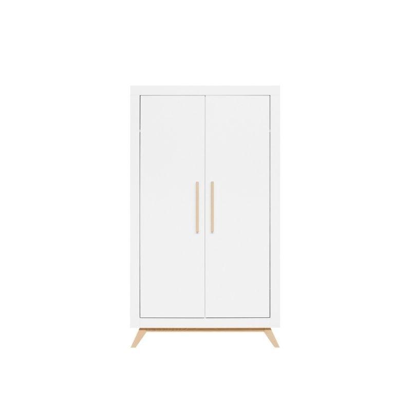 Bopita 2-deurskast witnaturel
