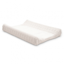 Jollein aankleedkussenhoes River knit cream white