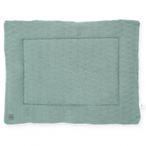 Jollein boxkleed River knit ash green