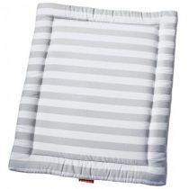 Bopita boxkleed streep grijs wit 95x75