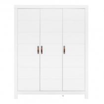 Bopita Lucca kast 3 deuren wit