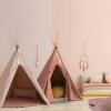 Nobodinoz Nevada tipi tent 152x120cm bloom pink 3