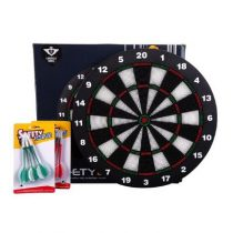 Engelhart dartbord kids safety met 6 darts