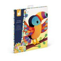 Janod Atelier stickers plakken dierenkaarten