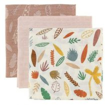 Sebra Wildlife hydrofiele doeken sunset pink 3 stuks