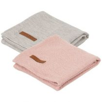Little Dutch hydrofiele doek pure pink grey 2 stuks