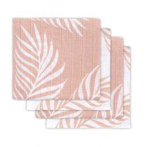 Jollein hydrofiele doeken Nature pale pink 4 stuks