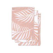 Jollein hydrofiele washandjes 3 stuks Nature pale pink