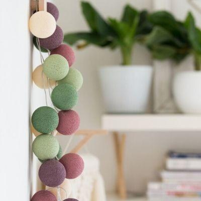 Cotton Ball Lights Forest fruit 20 stuks