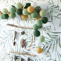 Cotton Ball Lights Sparkling palm 20 stuks