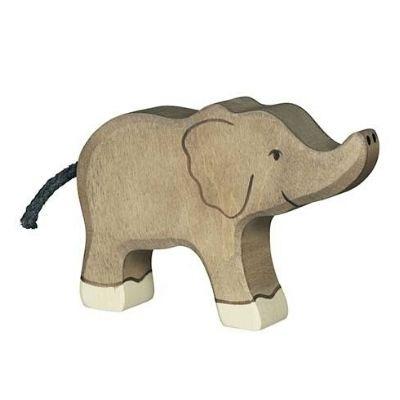 Holztiger Wildernis olifant klein 80537