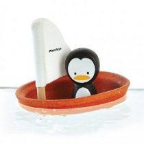 PlanToys zeilboot pinguin