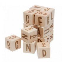 Sebra speelblokken alfabet hout