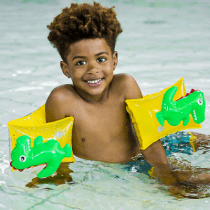 Swim Essentials zwembandjes dinosaurus 2-6 jaar