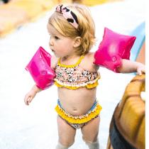 Swim Essentials zwembandjes neon roze 0-2 jaar