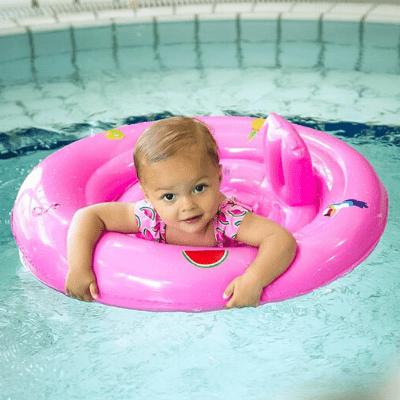 Swim Essentials zwemzitje baby roze