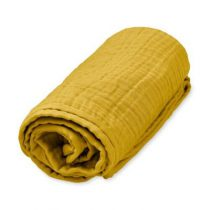 CamCam babydeken hydrofiel mustard oker geel