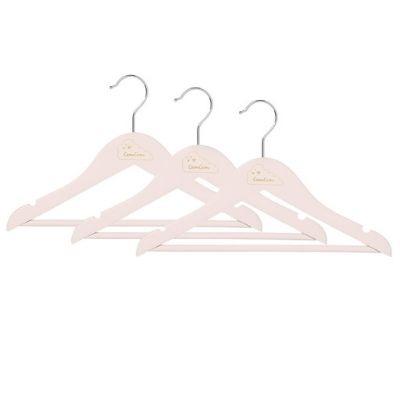 CamCam kinderkledinghanger blossom pink set 3 stuks