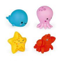 Janod badspeelgoed spuitfiguur zeedieren