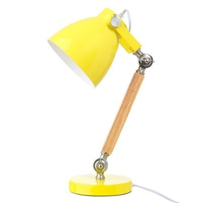 Lifetime bureaulamp geel