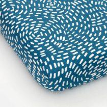 Studio Ditte hoeslaken flow blauw 90x200cm