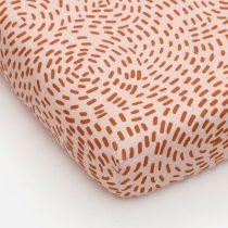 Studio Ditte hoeslaken flow roze 90x200cm