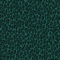 Esta home behang panterprint smaragdgroen