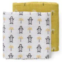 Fresk hydrofiele doeken pinguin 2 stuks