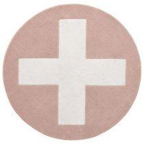 Lifetime vloerkleed pink X