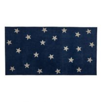 Lifetime vloerkleed stars blue