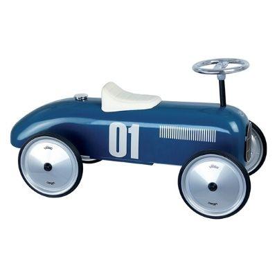 Vilac loopwagen vintage blauw