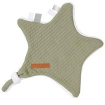Little Dutch knuffeldoek ster pure olive