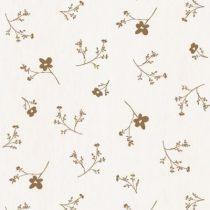 Bibelotte wallpaper behang bloemenzee groot mosterd