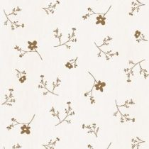 Bibelotte wallpaper behang bloemenzee groot mosterd
