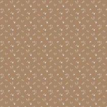 Bibelotte wallpaper behang bloemenzee mini mosterd